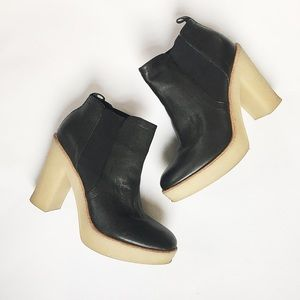 Gap Black Platform Booties
